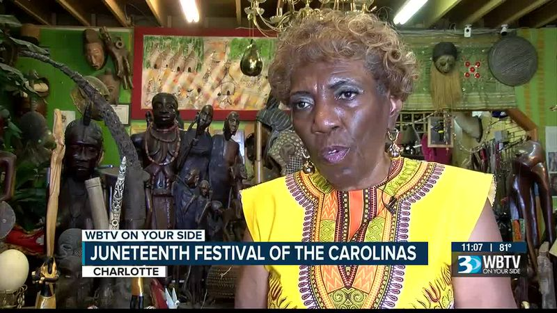 Charlotte celebrates Juneteenth with festival in Plaza Midwood
