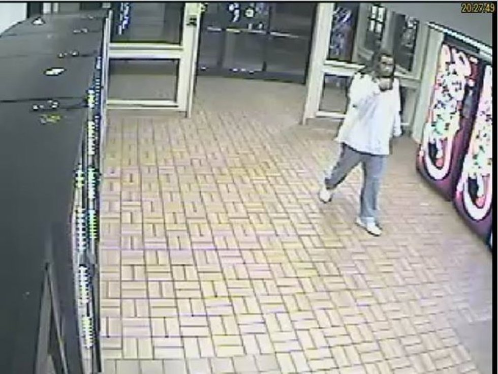 Still from surveillance video (Source: Cabarrus County Sheriff's office)