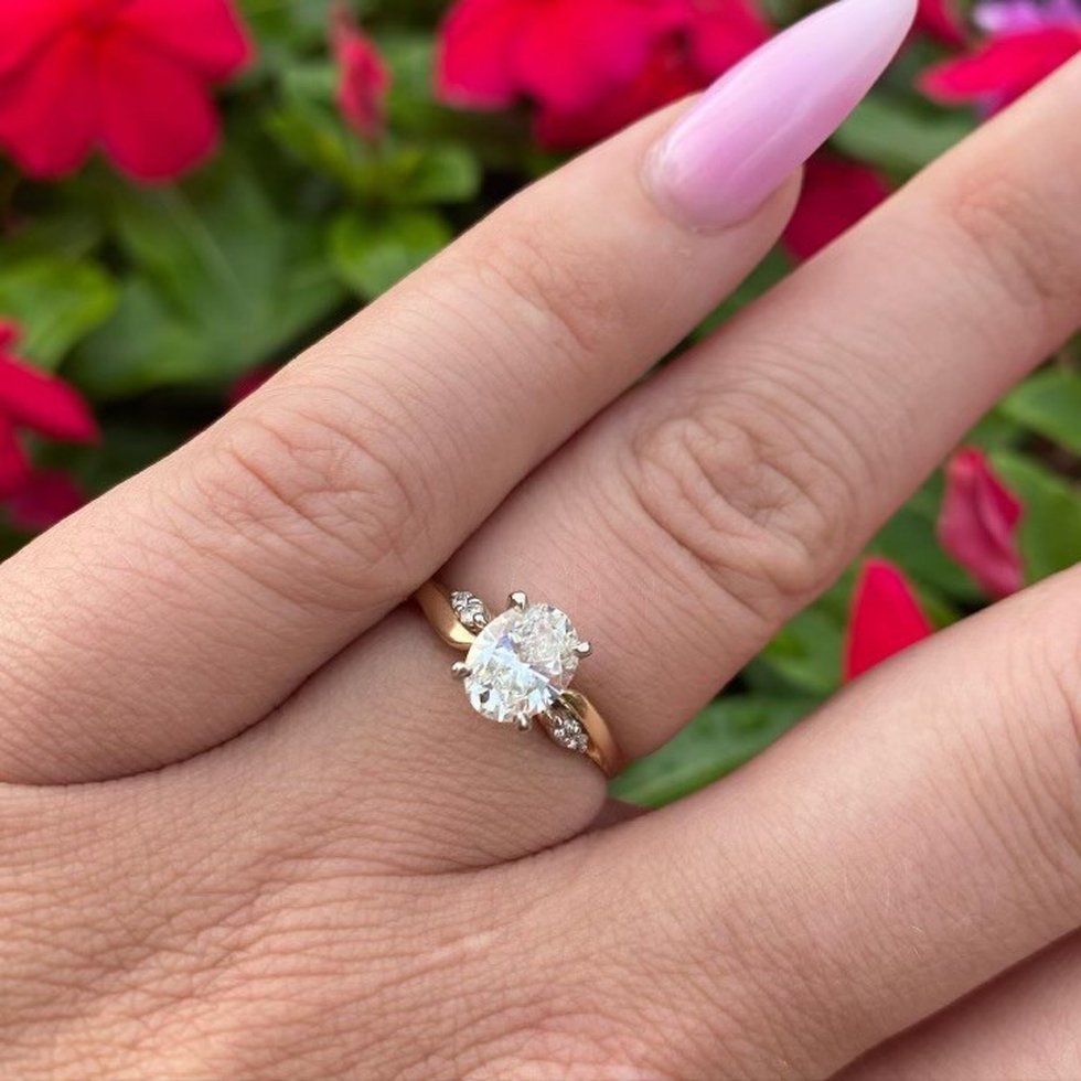 Chandler Morgan's engagement ring, Source: Chandler Morgan