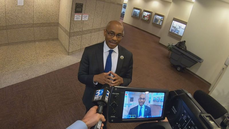 Charlotte City Manager Marcus Jones answers WBTV's questions about the paid time off policy...