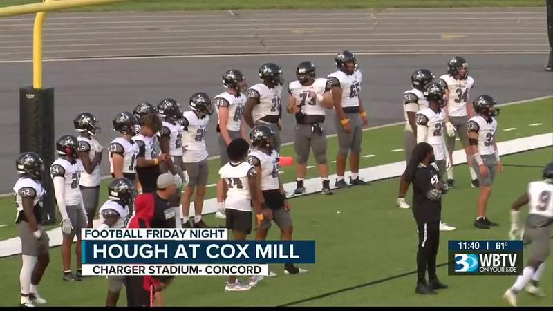 In the final tune up before conference play, Hough beat Cox Mill 48-7 to give the Chargers...