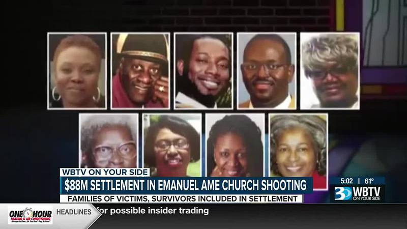 $88M settlement in Emanuel AME church shooting