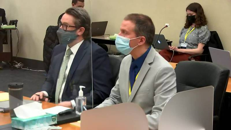 The prosecution and Derek Chauvin's defense team make their final case in the trial on the...