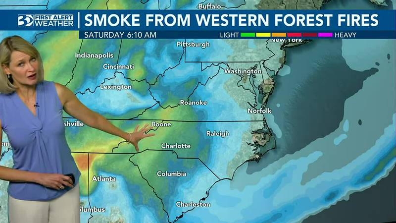 Haze moves along this weekend
