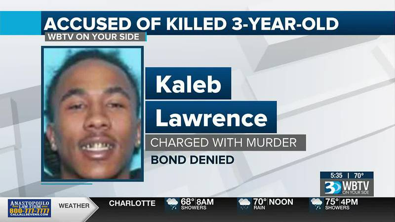 Bond denied for third suspect charged in shooting death of 3-year-old in northwest Charlotte