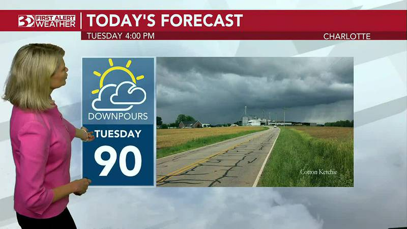 FIRST ALERT: More heavy rain possible Tuesday afternoon