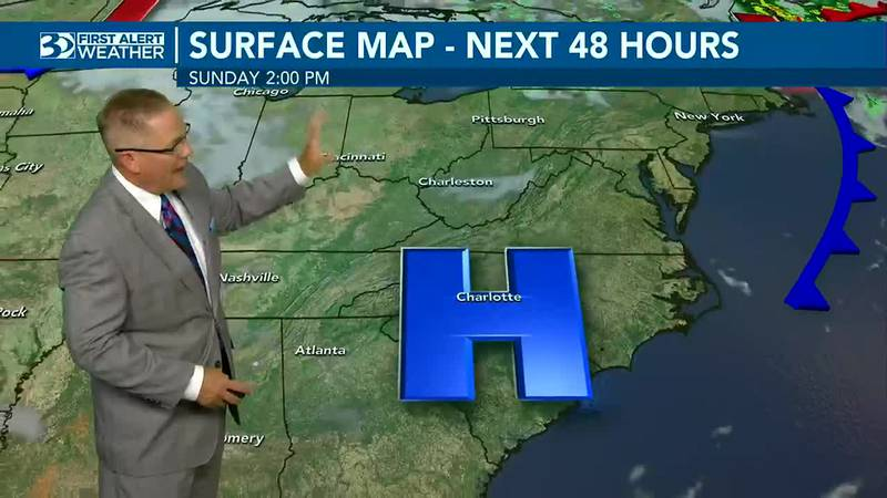 Cool mornings and warm afternoons continue