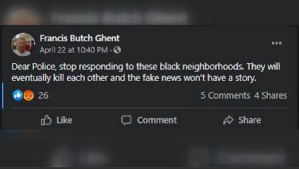 Fire chief in Lancaster County apologizes for racially insensitive social media post