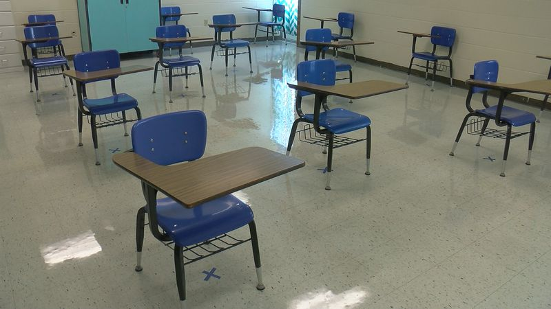 With cases continuing to rise throughout the county, Union County Schools are putting...