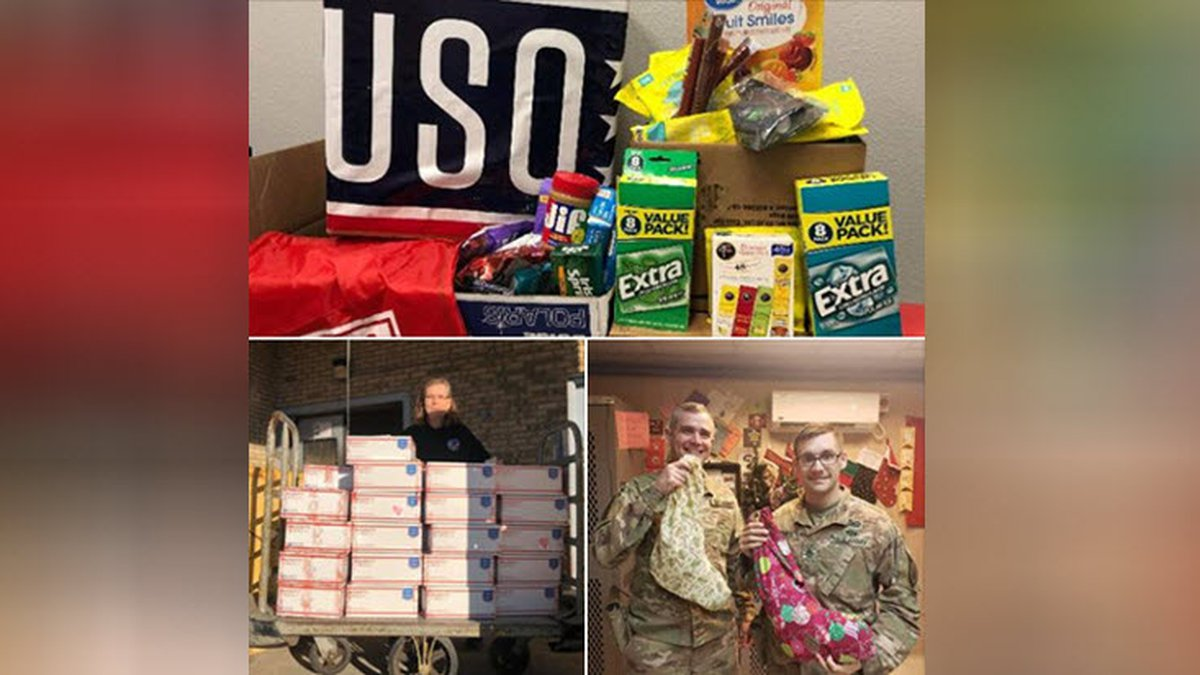 Fort Bragg offered advice on their Facebook page on how best to send care packages to soldiers...