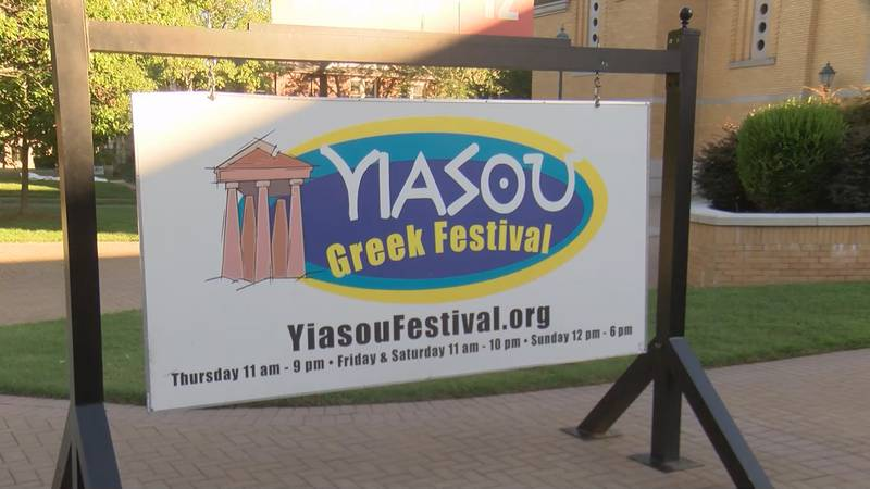 The annual Yiasou Greek Festival held in Charlotte's Dilworth community will be drive-thru only...