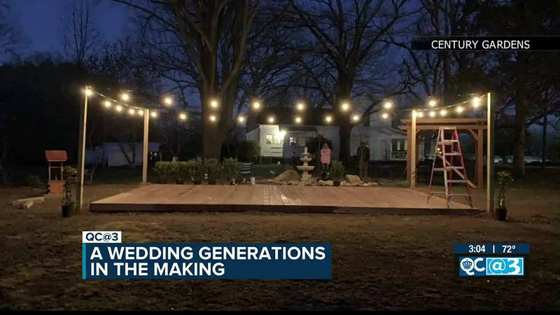 House with 100 years of history to host a wedding generations in the making