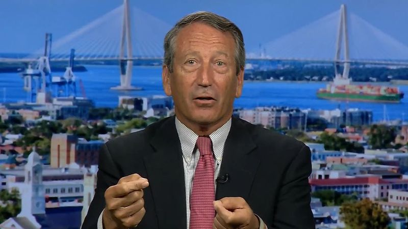 Former Congressman and South Carolina Governor Mark Sanford announces her will run for the...