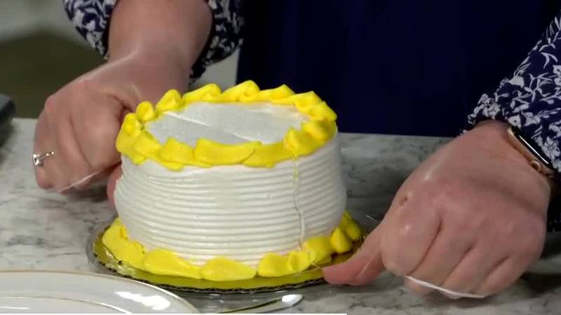 Life Hack: Slicing cake with floss