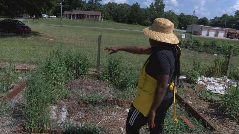 A Charlotte woman is buying land to create a community garden for kids.