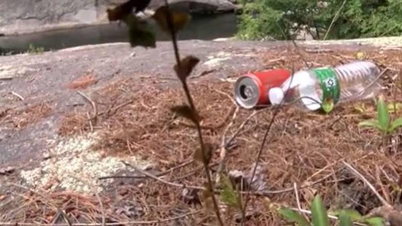 Holiday weekend over, trash cleanup underway along Wilson Creek