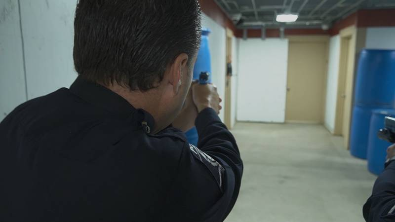 It's the first of its kind in the southeast and will be used to help officers practice...
