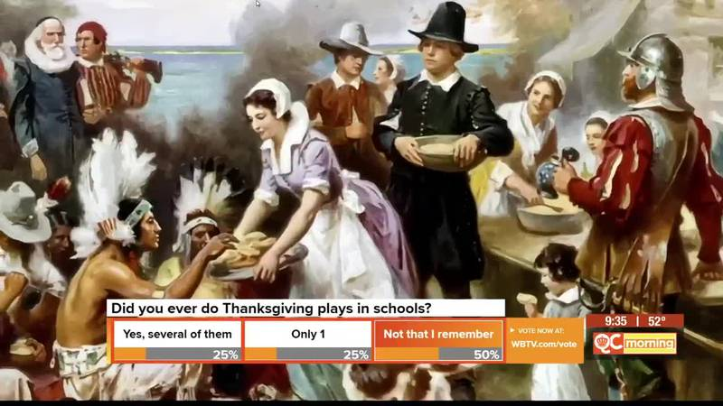 Mr. Russell's Classroom: A history of 'Thanksgiving' in this midst of adversity