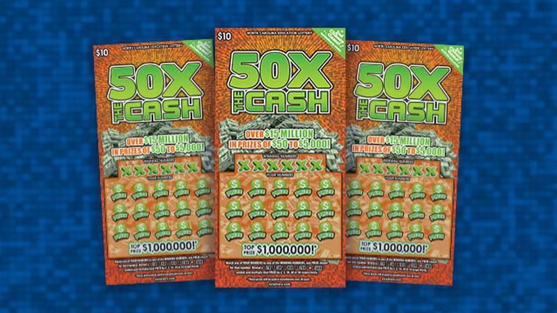 A Charlotte woman won $1 million playing a $10 scratch-off ticket.