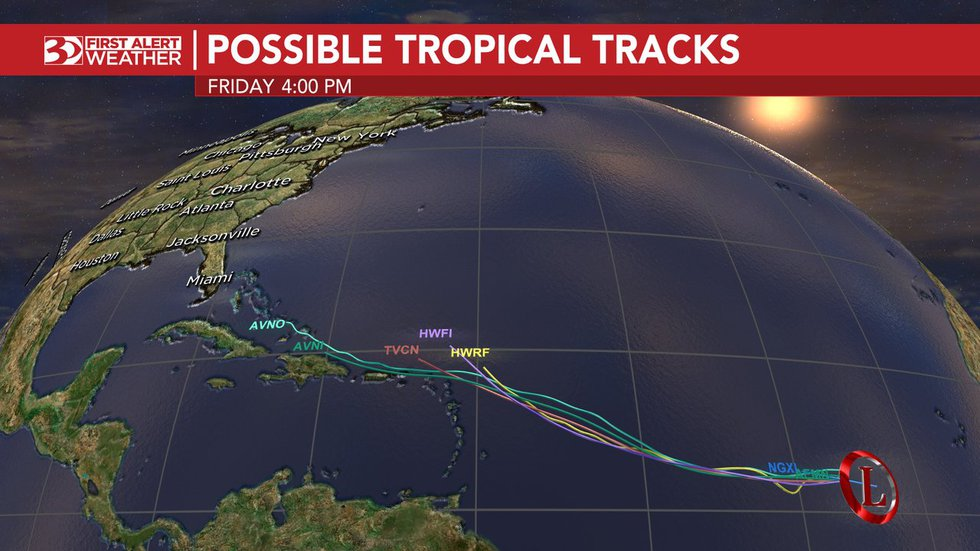 This disturbance has a 80% chance of formation.