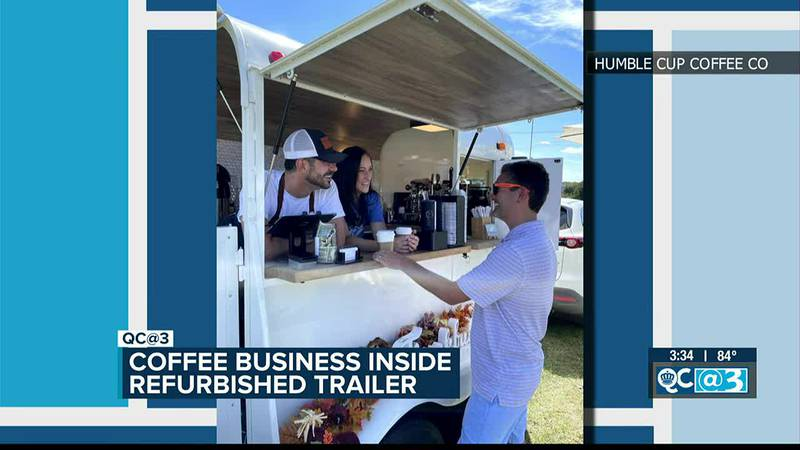 Humble Coffee Company operates inside refurbished trailer in S.C.