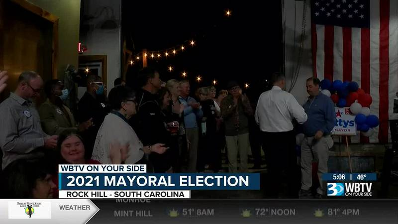 Unofficial results: Incumbent Rock Hill mayor appears to retain seat