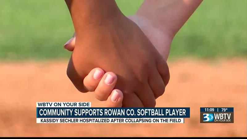 Community supports Rowan County softball player