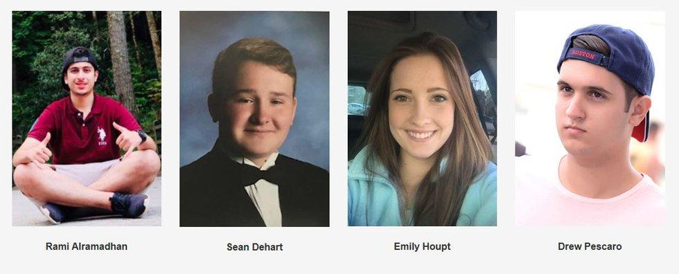 UNC Charlotte shooting survivors