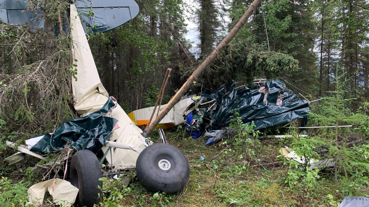 Seven people were killed following a mid-air collision involving two aircrafts in Alaska Friday...