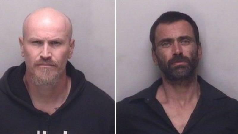 Jonathan Paul Holshouser and Adam Keith Lloyd were charged.