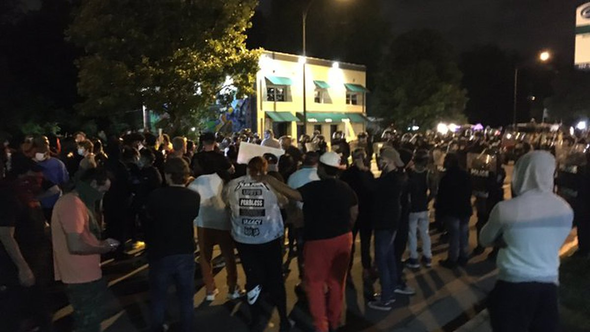 15 arrests made, 3 officers hurt in Friday's Charlotte protests