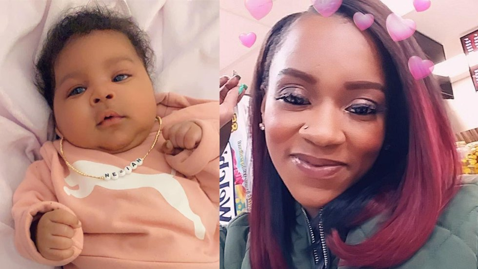 Police say the infant and the woman who were shot and killed Tuesday were mother and daughter.
