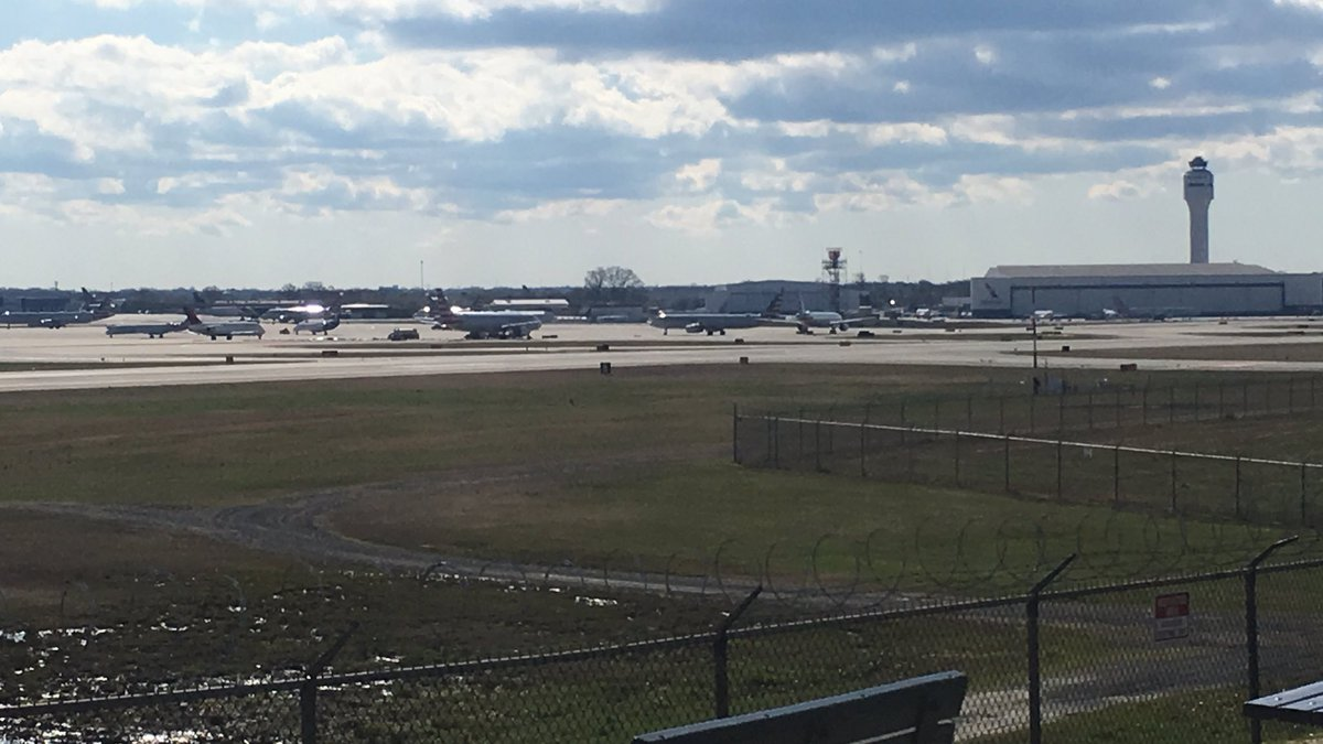 A fire inside the control tower at Charlotte Douglas International Airport caused an employee...