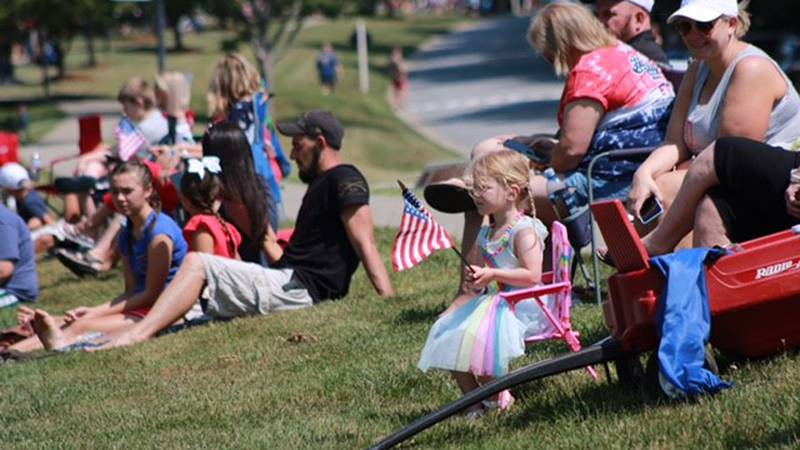 Over 150 people were in the Troutman Fourth of July Parade.