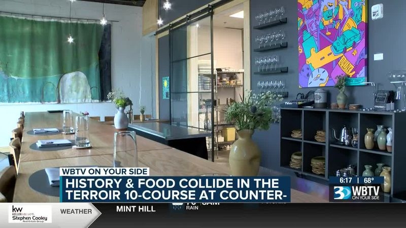 History & Food Collide In The Terroir 10-Course At Counter