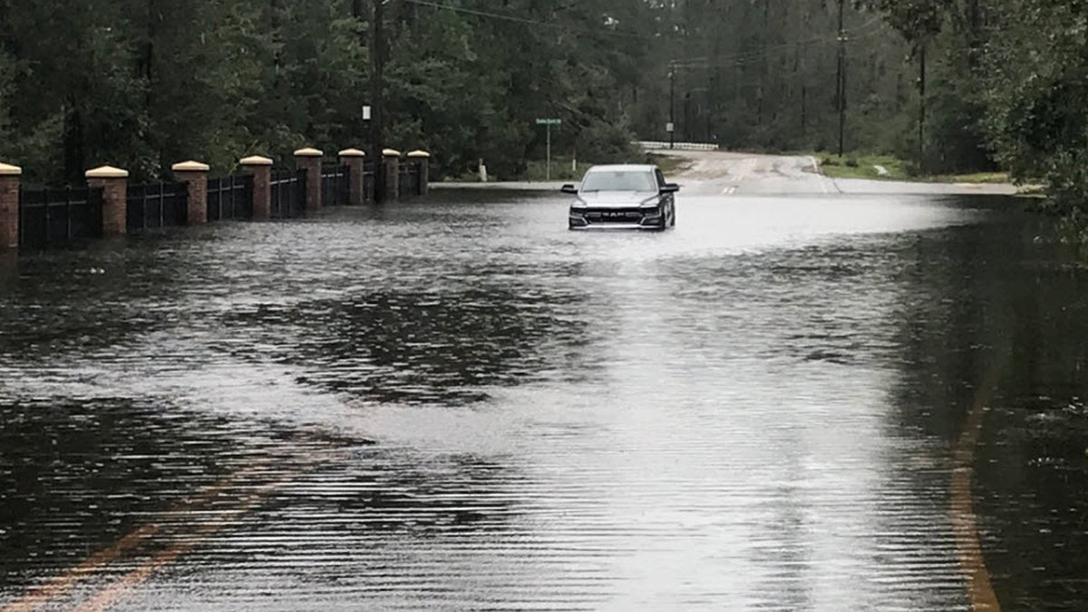 Flooding in New Hanover County, NC