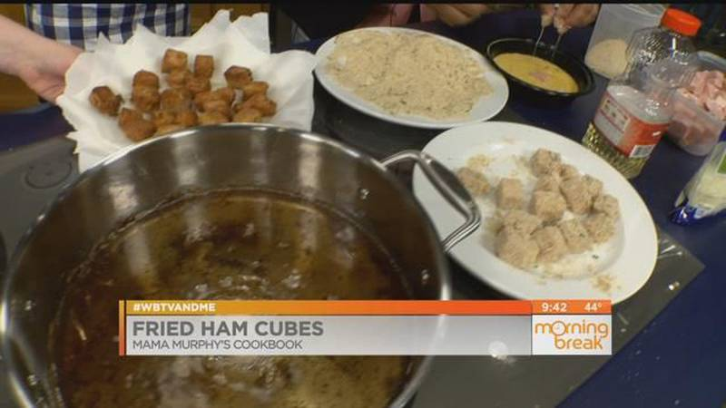Good News And Good Food: Fried Ham Cubes