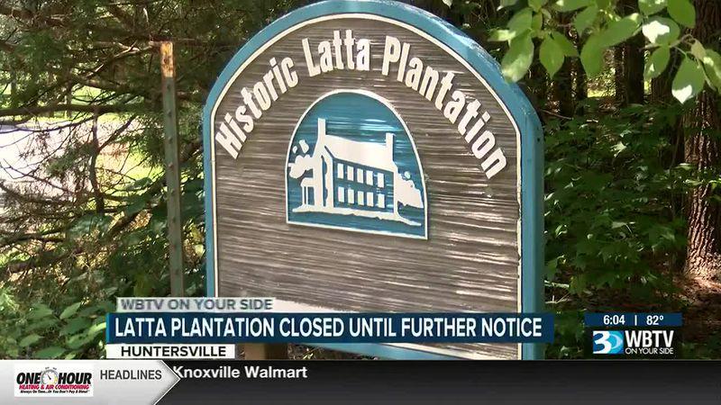 Historic Latta Plantation closed until further notice