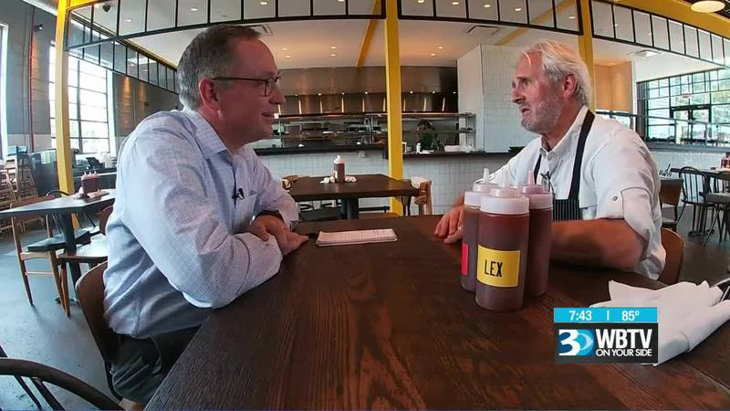 Talking about Carolina barbecue with Noble Smoke's Jim Noble