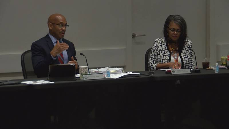 During a council meeting Monday night, Charlotte City Manager Marcus Jones explains how the...