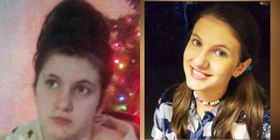 Childress is described as a white female, about 5 feet, 6 inches tall and weighs about 135...