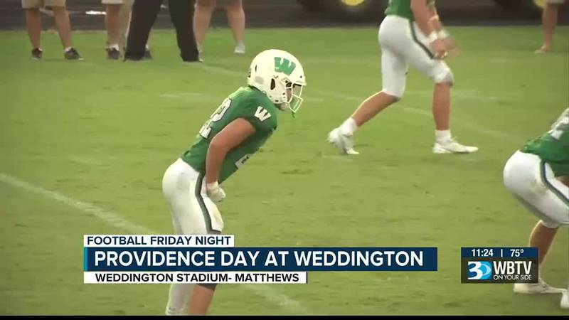 Weddington moves to 2-0 with a win over Providence Day 28-7.