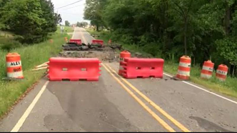 Roads still being fixed, campground still closed 6 months after deadly flooding in Alexander...