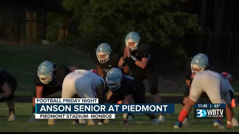 The Piedmont Panthers pick up their first victory of the season with a win over Anson Senior...