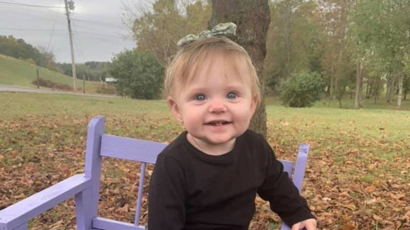 Evelyn Boswell, 1, was last seen by family members in late November or early December 2019.