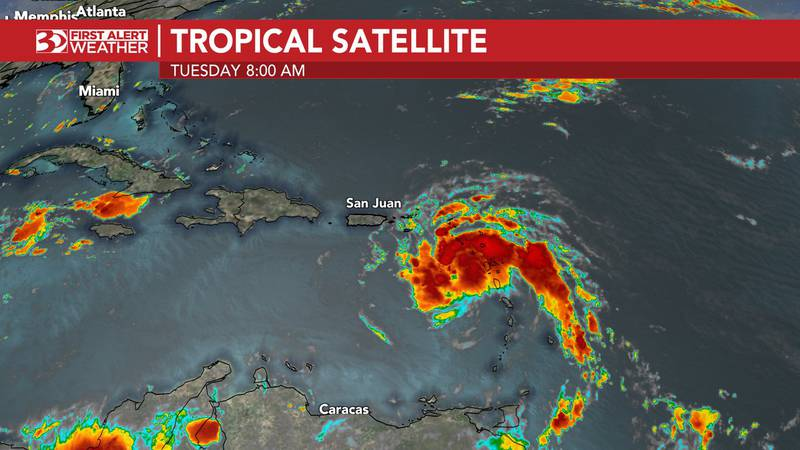 Tropical satellite