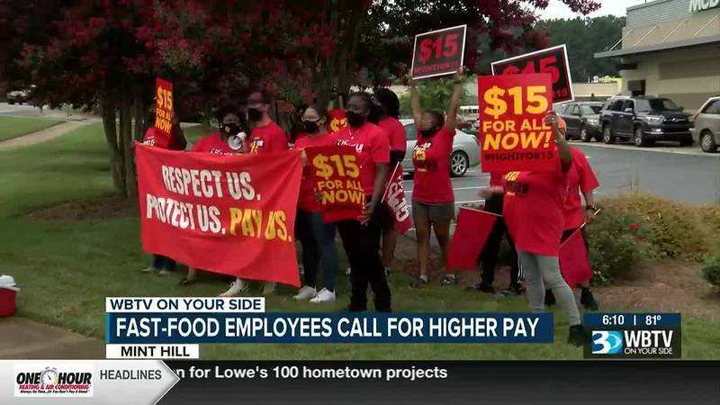 The group TheFightFor15.org says workers across the country are demanding Congress and...
