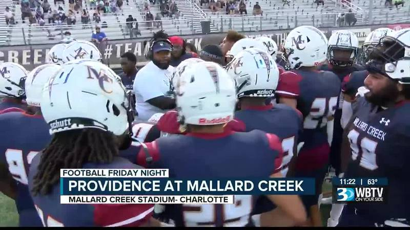 After not playing the first 2 weeks of this season, Mallard Creek finally got to start their...