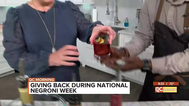 Giving back during National Negroni Week