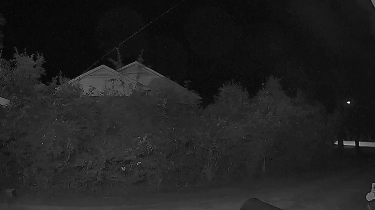 'We're still in awe':  A bug? Firework? Meteor? Shooting star? Ring camera captures unknown...